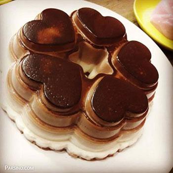 طرز تهیه پاناکوتا شکلاتی