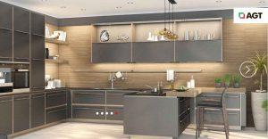 معرفی ۵ مدل شیک دیزاین آشپزخانه کوچک با مساحت زیر ۲۰ متر
