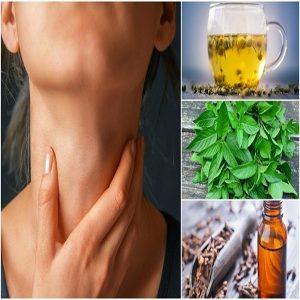 درمان خانگی گلودرد با نوشیدنی های گیاهی !!