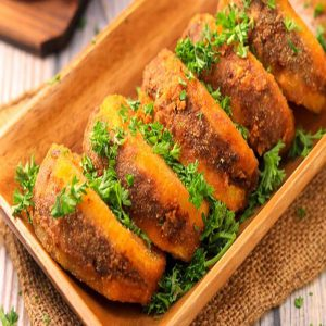 گوشت و سیب زمینی سوخاری