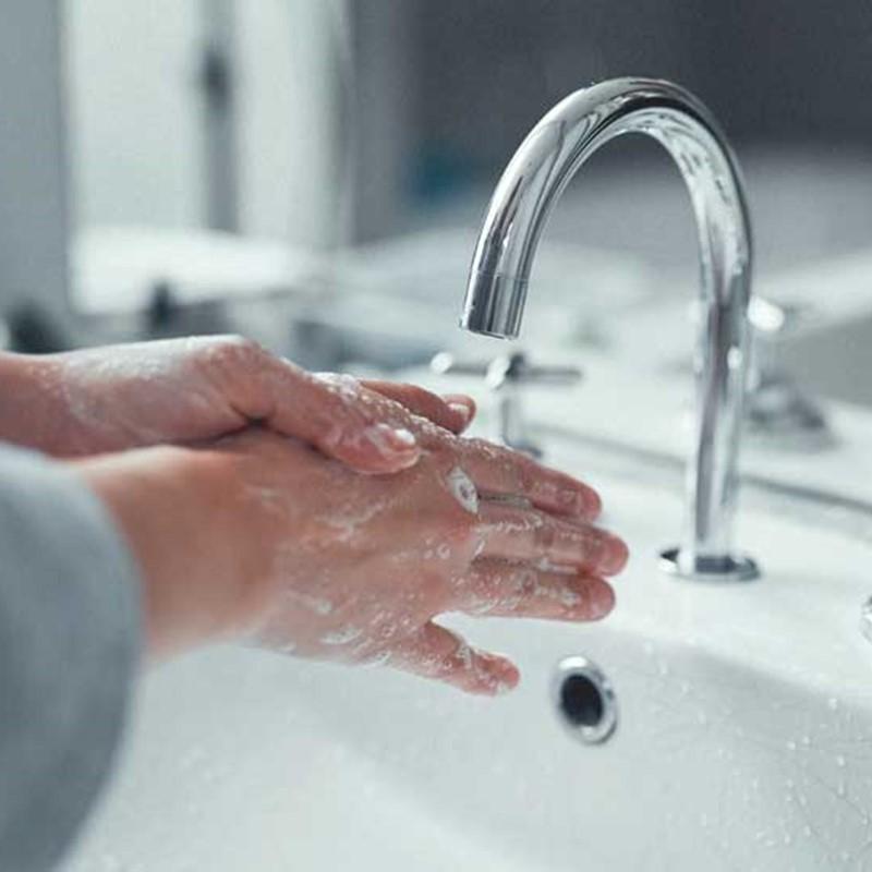 راه صحیح شستن دست ها