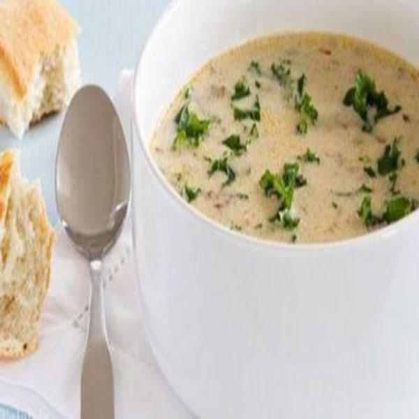 سوپ ایتالیایی توسکانا با خامه