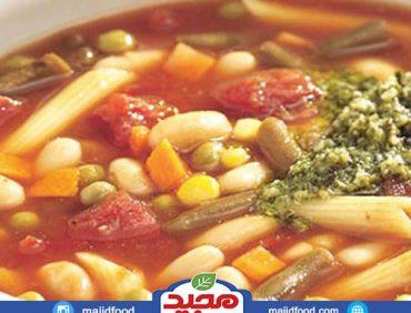 سوپ سبزیجات ایتالیایی