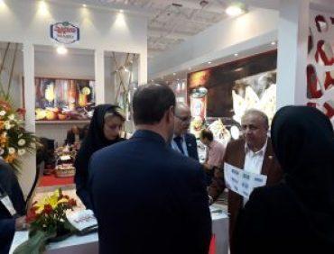 شرکة آذین شوشتر في المعرض الدولي للصناعاتع الغذائیة