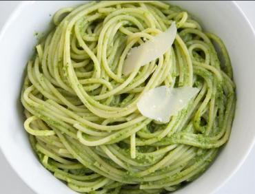 اسپاگتی با سس پستو کلمبرگ